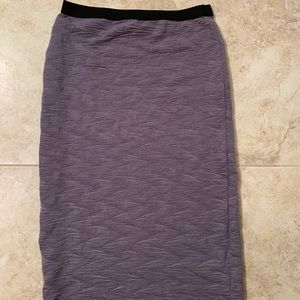 Forever 21 grey pencil skirt size S